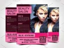 97 Printable Beauty Salon Flyer Templates Free For Free with Beauty Salon Flyer Templates Free