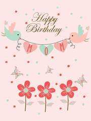 97 Standard Birthday Card Template For Mummy With Stunning Design by Birthday Card Template For Mummy