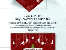 97 Standard Christmas Menu Card Template Free in Photoshop for Christmas Menu Card Template Free