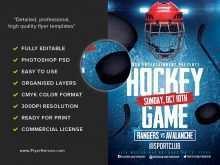 97 Standard Free Hockey Flyer Template Maker for Free Hockey Flyer Template