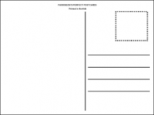 97 Standard Postcard Template Png Download for Postcard Template Png