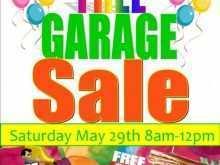97 The Best Garage Sale Flyer Template in Word for Garage Sale Flyer Template