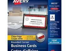 97 Visiting Avery Business Card Template 88220 Formating for Avery Business Card Template 88220