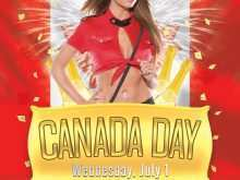 97 Visiting Canada Day Flyer Template PSD File with Canada Day Flyer Template