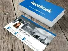 98 Blank Business Card Template With Facebook And Instagram Logo Photo by Business Card Template With Facebook And Instagram Logo