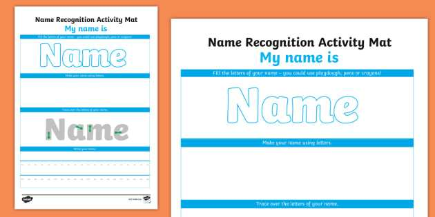98 Blank Name Card Template Eyfs Maker for Name Card Template Eyfs