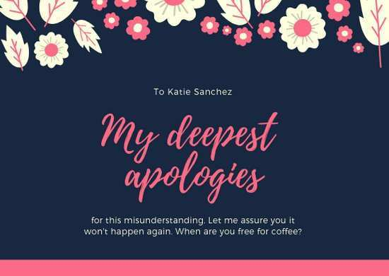 98 Creative Apology Card Template Free Photo for Apology Card Template Free
