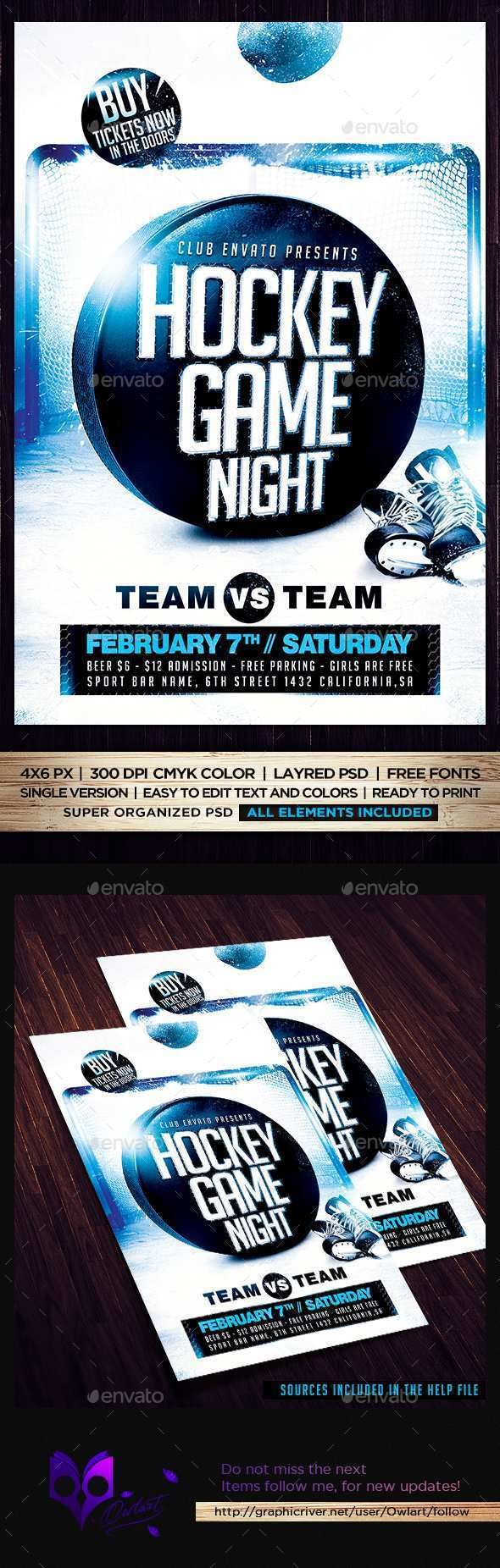 98 Creative Free Hockey Flyer Template in Word by Free Hockey Flyer Template
