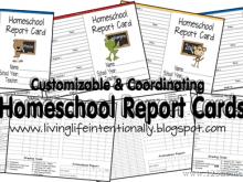 98 Creative Free Printable Homeschool Report Card Template Download for Free Printable Homeschool Report Card Template