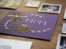 98 Customize Diy Mother S Day Card Template Now with Diy Mother S Day Card Template