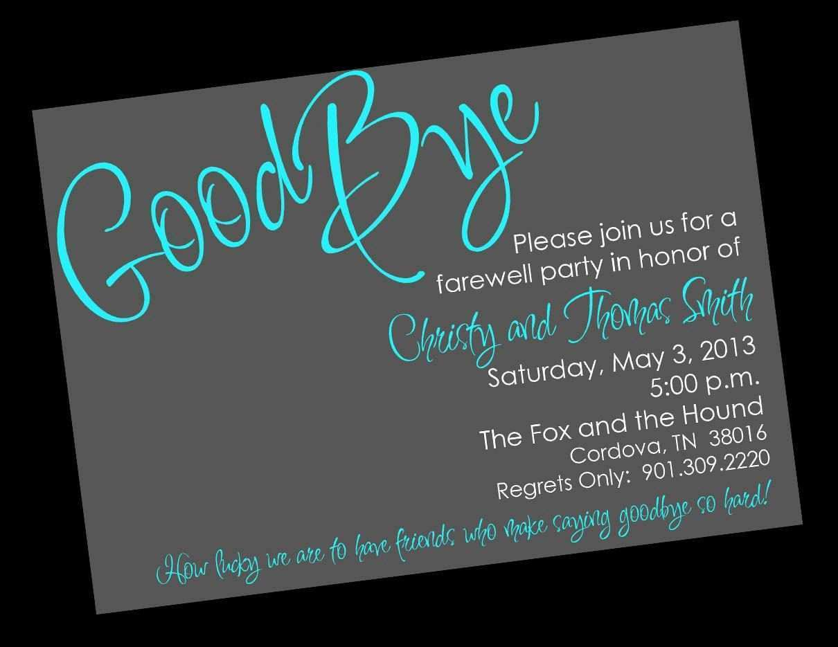 98 Customize Farewell Party Invitation Card Template Free Now with Farewell Party Invitation Card Template Free