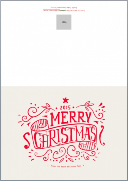 98 Customize Our Free Christmas Card Template A4 Layouts with Christmas Card Template A4