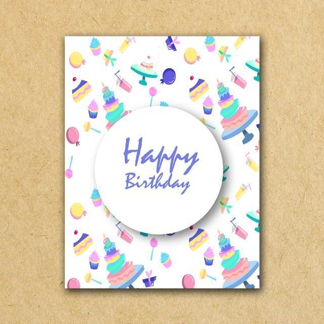98 Customize Our Free Happy Birthday Business Card Template Photo with Happy Birthday Business Card Template