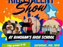 98 Customize Our Free School Talent Show Flyer Template in Word with School Talent Show Flyer Template