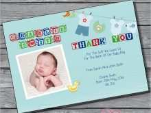 98 Format Baby Thank You Card Template Printable for Ms Word with Baby Thank You Card Template Printable