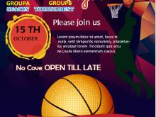 98 Free Printable Basketball Game Flyer Template in Photoshop with Basketball Game Flyer Template