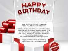 98 How To Create Birthday Card Template For Email Maker with Birthday Card Template For Email