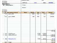 98 How To Create Gst Invoice Template Xls With Stunning Design for Gst Invoice Template Xls