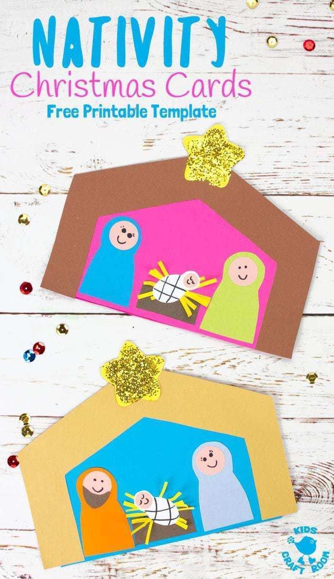 98 Online Christmas Card Nativity Templates Formating with Christmas Card Nativity Templates