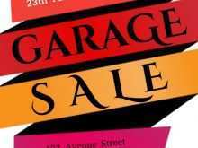 98 Report Garage Sale Flyer Template Formating with Garage Sale Flyer Template