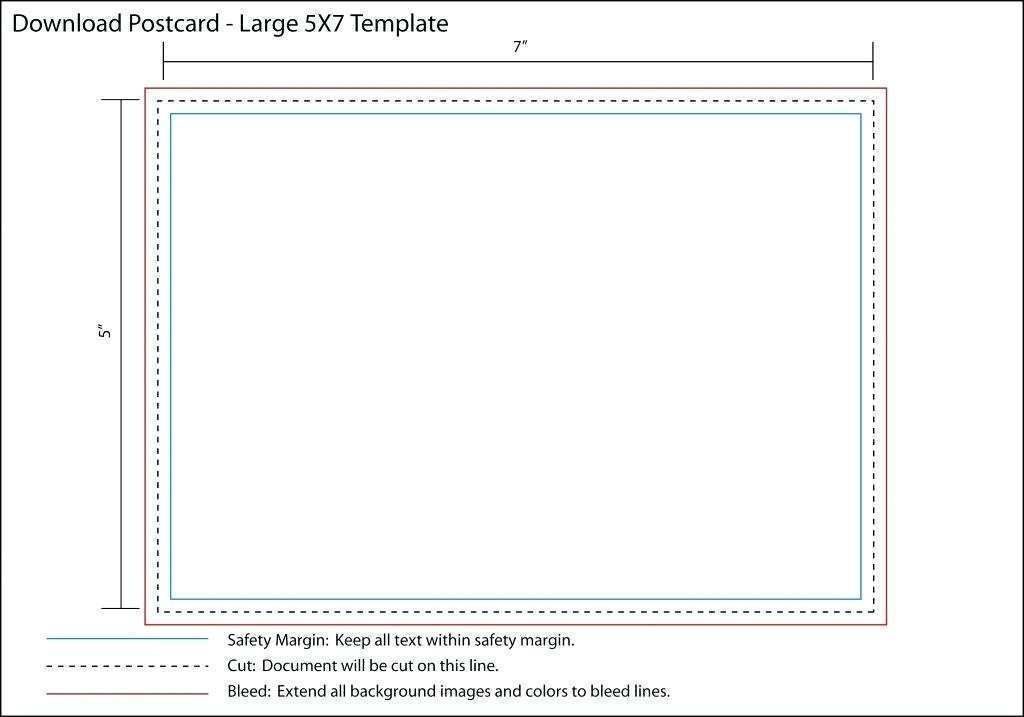 5X7 Template In Word from legaldbol.com