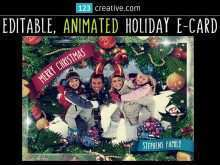 98 The Best Christmas Card Animation Template With Stunning Design by Christmas Card Animation Template