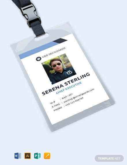 98 Visiting American Id Card Template for Ms Word by American Id Card Template