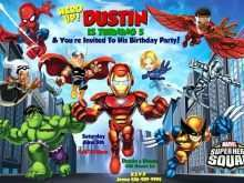 99 Adding Birthday Card Template Avengers With Stunning Design by Birthday Card Template Avengers
