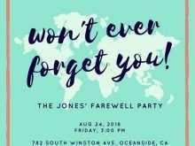 99 Best Farewell Invitation Card Template Word Photo with Farewell Invitation Card Template Word