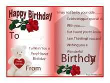 99 Birthday Card Template Brother in Word for Birthday Card Template Brother