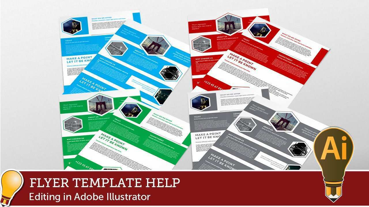 99 Blank Adobe Illustrator Templates Flyer Photo for Adobe Illustrator Templates Flyer