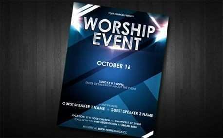 99 Blank Church Event Flyers Free Templates For Free for Church Event Flyers Free Templates