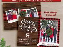 99 Creating Free Rustic Christmas Card Templates For Free by Free Rustic Christmas Card Templates
