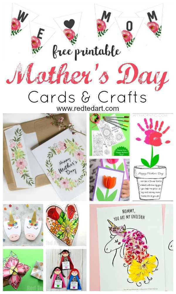 99 Creating Mother S Day Card Templates To Make For Free by Mother S Day Card Templates To Make