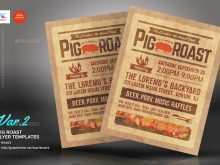 99 Creating Pig Roast Flyer Template Free For Free by Pig Roast Flyer Template Free