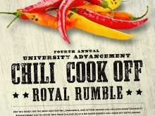 99 Creative Chili Cook Off Flyer Template Free PSD File for Chili Cook Off Flyer Template Free
