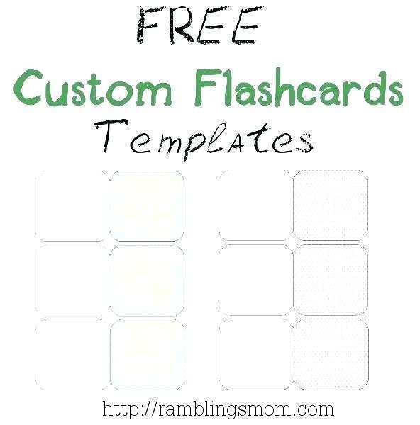 99 Creative Flash Card Template For Word 2010 PSD File for Flash Card Template For Word 2010