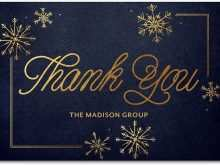 Thank You Card Psd Template Free