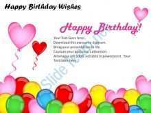 Happy Birthday Card Powerpoint Template