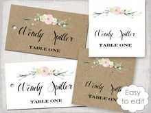 99 Customize Name Card Template For Wedding Download for Name Card Template For Wedding