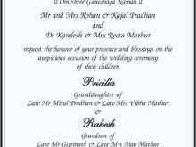 Wedding Card Templates In Hindi