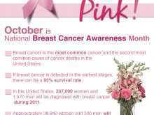 99 Format Breast Cancer Awareness Flyer Template Free Maker by Breast Cancer Awareness Flyer Template Free