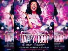 99 Format Happy Hour Flyer Template Free Now with Happy Hour Flyer Template Free