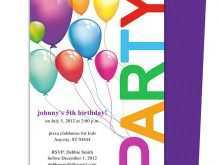 99 Free Birthday Party Invitation Flyer Template in Word by Birthday Party Invitation Flyer Template