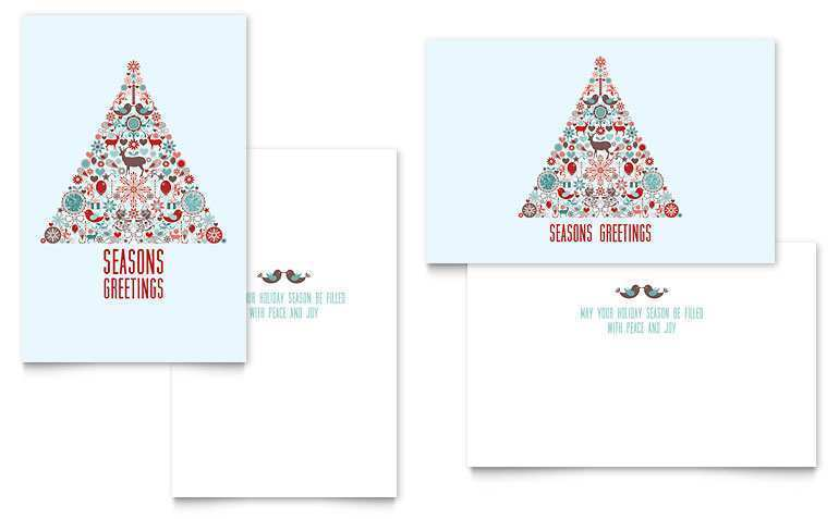 99 Free Printable Christmas Card Templates In Word in Photoshop with Christmas Card Templates In Word