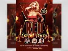 99 Free Printable Red Carpet Flyer Template Free Download with Red Carpet Flyer Template Free