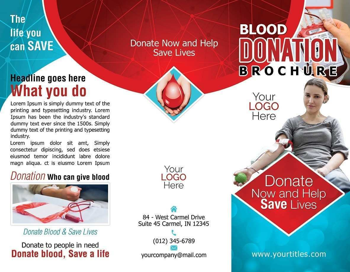 99 How To Create Blood Donation Flyer Template Maker for Blood Donation Flyer Template