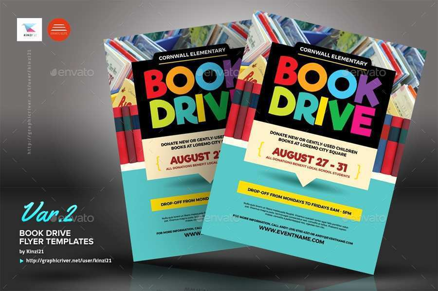 99 How To Create Book Drive Flyer Template Now with Book Drive Flyer Template