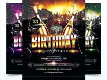 99 How To Create Free Birthday Flyer Template Word PSD File for Free Birthday Flyer Template Word