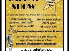 99 Online School Talent Show Flyer Template Photo for School Talent Show Flyer Template